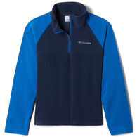 Columbia Boy's Glacial Fleece Quarter-Zip Long-Sleeve Pullover Top