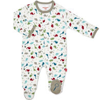 Magnetic Me Infant Boy's Dino Expedition Organic Cotton Magnetic Footie Pajama