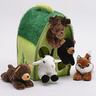 Unipak Designs Plush Animals In A Tree - 6 Piece