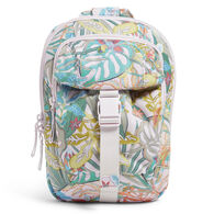 Vera Bradley Recycled Cotton Utility Sling Backpack