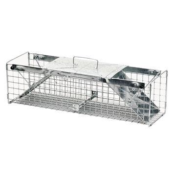 "Havahart 24"" Medium Two-Door Live Animal Cage Trap"