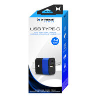 Xtreme 2.4 Amp USB Type-C Dual Port Home Charger