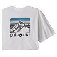 Patagonia Men's Line Logo Ridge Pocket Responsibili-Tee Short-Sleeve T-Shirt