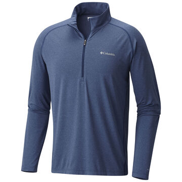 Columbia Mens Tuk Mountain Half-Zip Long-Sleeve Shirt