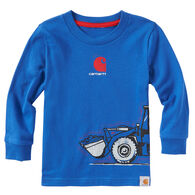 Carhartt Toddler Boys' Construction Wrap Long-Sleeve T-Shirt