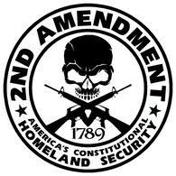 Sticker Cabana 2nd Amendment Sticker