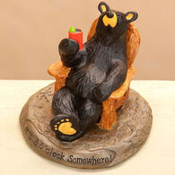 Big Sky Carvers 5 O'Clock Somewhere Bear Figurine