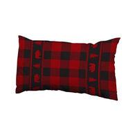 Wilcor Buffalo Plaid Bear Travel Pillow