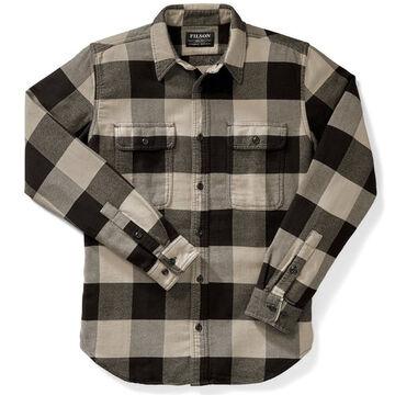 Filson Mens Vintage Flannel Long-Sleeve Work Shirt