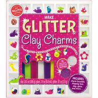 Klutz Make Glitter Clay Charms Craft Kit by The Editors of Klutz