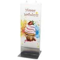 Flatyz Candle - Happy Birthday Cupcake