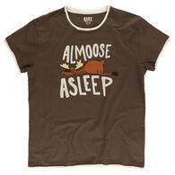 Lazy One Women's Almoose Asleep Sleep Short-Sleeve T-Shirt