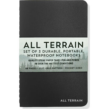 All Terrain: The Waterproof Notebook Set by Peter Pauper Press