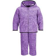 Trail Crest Infant/Toddler Heathered Chambliss Fleece Set