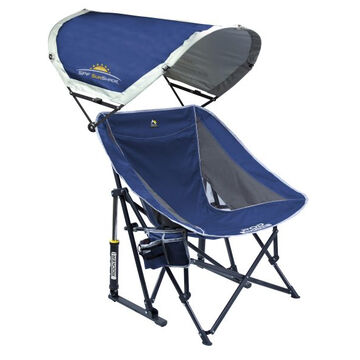 GCI Outdoor Pod Rocker w/ SunShade Folding Rocking Chair