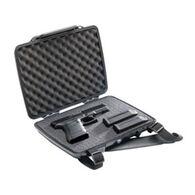 Pelican P1075 Pistol & Accessory HardBack Case