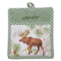 Kay Dee Designs Pinecone Trails Moose Embroidered Pocket Mitt