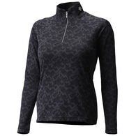 Descente Women's Evelyn Quarter-Zip Baselayer Top