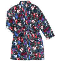 Sovereign Athletic Boy's Football Fleece Robe