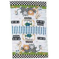 Kay Dee Designs Fish Market Terry Kitchen Towel