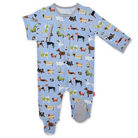 Magnetic Me Infant In-Dog-Nito II Modal Magnetic Footie Pajama