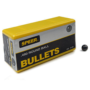 "Speer 0.350"" - 0.535"" Lead Round Ball (100)"