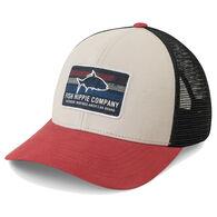 Fish Hippie Men's Rooted Trucker Hat