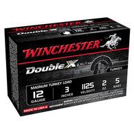 "Winchester Double X 12 GA 3"" 2 oz. #5 Shotshell Ammo (10)"