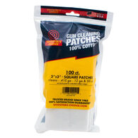 "Shooter's Choice 3"" Gun Cleaning Patch - 100 Pk."