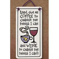 "Spooner Creek ""Lord Give Me Coffee"" Mini Charmer Tile"