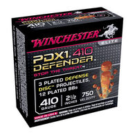 "Winchester PDX1 Defender 410 GA 2-1/2"" 3DD/12 BB Buckshot Ammo (10)"