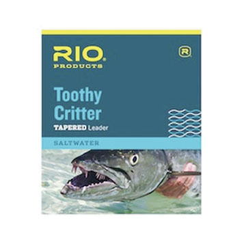 RIO Toothy Critter Tapered Saltwater Leader