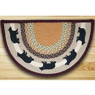 Capitol Earth Cabin Bear Printed Slice Rug