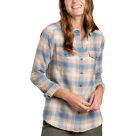 Toad&Co Women's Re-Form Flannel Long-Sleeve Shirt