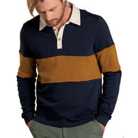 Toad&Co Men's Follow Through Rugby Long-Sleeve Shirt