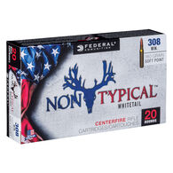 Federal Non-Typical 308 Winchester 180 Grain Soft Point Rifle Ammo (20)