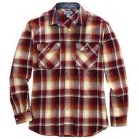 Carhartt Men's Rugged Flex Relaxed Fit Snap Front Plaid Long-Sleeve Shirt