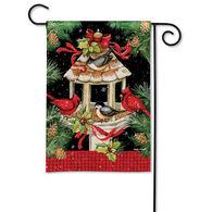 BreezeArt Christmas Dinner Garden Flag