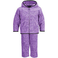 Trail Crest Infant/Toddler Heathered Chambliss Fleece Set