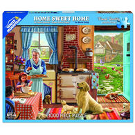 White Mountain Jigsaw Puzzle - Home Sweet Home