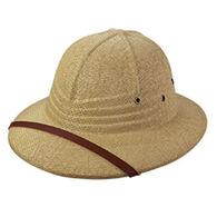 Broner Men's Straw Pith Helmet Hat