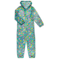 Candy Pink Girl's Rainbow Food Pajama Onesie
