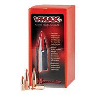 "Hornady V-Max 25 Cal. 75 Grain .257"" Flat Base Rifle Bullet (100)"