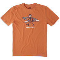 Life is Good Men's Kayak Life Jake Crusher Short-Sleeve T-Shirt