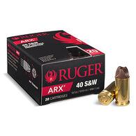 PolyCase Ruger ARX 40 S&W 107 Grain Self-Defense Ammo (20)