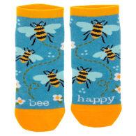 Karma Women's Bee Happy Ankle Sock