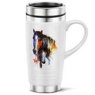 Big Sky Carvers Mare And Foal Travel Mug