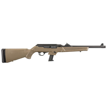 Ruger PC Carbine FDE 9mm 16.12 17-Round Rifle