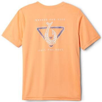 Columbia Boys PFG Stamp Short-Sleeve Shirt