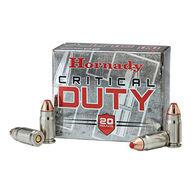 Hornady Critical Duty 40 S&W 175 Grain FlexLock Handgun Ammo (20)